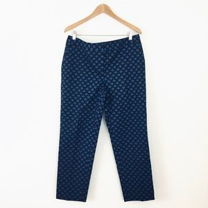 Halogen Taylor Fit Blue High Waisted Dress Pants